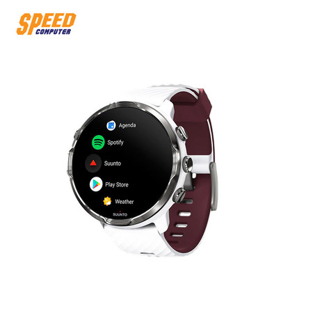 SUUNTO 7 SMARTWATCH OUTDOOR WHITE BURGUNDY by Speed Computer