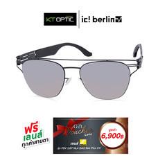 IC BERLIN แว่นกันแดด SUPREMACY BLACK/QUICKSILVER