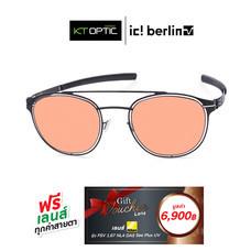 IC BERLIN แว่นกันแดด SIMPLICITY BLACK/BERNSTEIN