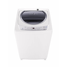 TOSHIBA เครื่องซักผ้าฝาบน AW-B1100GT 10 kg Powerful Hybrid pulsator เพิ่มประสิทธิภาพในการซัก ด้วยกระแสน้ำวนขึ้น-ลง