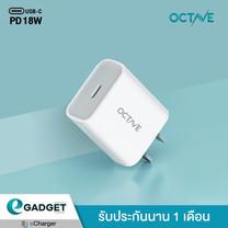 หัวชาร์จเร็วไอโฟน Octave BASIC PD 18W USB-C 1ช่อง หัวชาร์จ PD18W