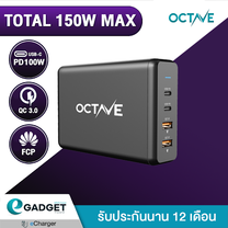 Adapter OCTAVE XtremePort P108+ (PD100W/QC3.0/FCP) 4Ports