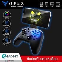 (รุ่นใหม่ล่าสุด) จอยเกมส์มือเดียว Flydigi APEX 2 เล่นได้ทั้ง iOS และ Andriod มีระบบ Motion Sensors (Gyroscope) ได้อิสระ