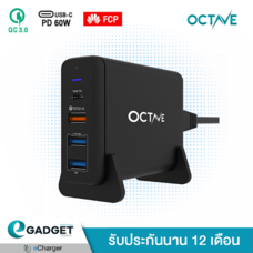 Adapter OCTAVE XtremePort P75 (PD60W/QC3.0/FCP) 4Ports