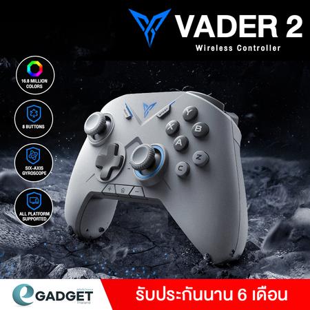 จอยเกมส์ Flydigi Vader 2 รองรับเฉพาะ Andriod มีระบบ Motion Sensors (Gyroscope) ได้อิสระ สีดำ