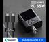 ประกัน 2 ปี หัวชาร์จเร็ว ZMI Adapter PD 65W 1Port Power Delivery หัวชาร์จ รุ่น HA712 (แถมสายชาร์จ)