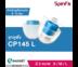 จุก SpinFit CP145 (สีขาว/ฟ้า) Size L