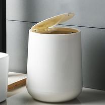 Trash Can ถังขยะตั้งโต๊ะ ABS+PP Eco-Friendly Dustbin Household Trash Bin