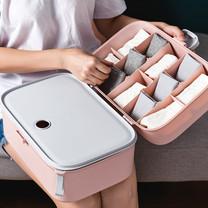 กล่องเก็บของ 12 ช่อง พับเก็บได้ Foldable Storage Box - Pink