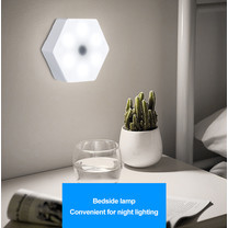 Mosinai Quantum Lamp LED Splicable Lamp DIY Lamp Touch Sensitive Lighting Hexagonal Lamps Night Light Remote Control Wall Lamp Night Light