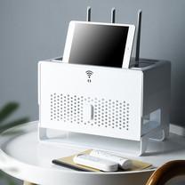 กล่องเก็บเราเตอร์ กล่องเก็บสายไฟ  กล่องสายไฟ Wifi Router Storage Box