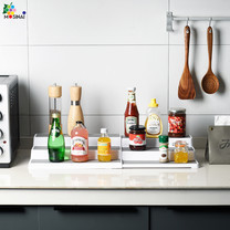 Mosinai ผู้จัดห้องครัว ชั้นวางของในครัว ชั้นเก็บของที่ทนต่อการสึกหรอไม่ลื่น ทำให้ห้องครัวดูเป็นระเบียบเรียบร้อยมาก
