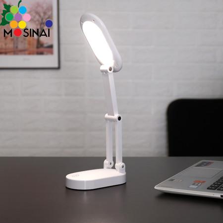Mosinai โคมไฟอ่านหนังสือ โคมไฟตั้งโต๊ะ ถนอมสายตา ตั้งโต๊ะ สไตล์ โมเดิร์น หลอดไฟ ประหยัดไฟ พับเก็บสะดวก แสงสามสี LED Table Lamps รุ่น QS-1316
