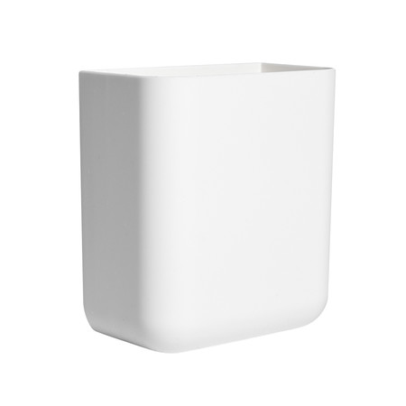 กล่องใส่ของติดผนัง ชั้นวางของติดผนัง กล่องเก็บของ ไม่ต้องเจาะผนัง สีขาว