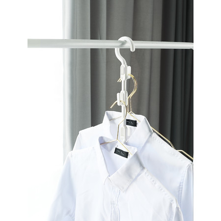 Mosinai ไม้แขวนเสื้อผ้า Wonder Closet Organizer Space Saver Magic Hanger Clothing Rack Clothes Hook