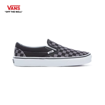 รองเท้าผ้าใบ VANS รุ่น CHECKERBOARD CLASSIC SLIP-ON สี Black/Pewter Checkerboard