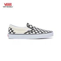 รองเท้าผ้าใบ VANS รุ่น CHECKERBOARD CLASSIC SLIP-ON สี Blk&Whtchckerboard/Wht