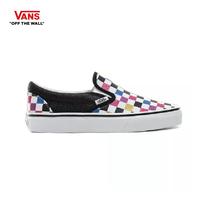 รองเท้าผ้าใบ VANS รุ่น GLITTER CHECKERBOARD CLASSIC SLIP-ON สี Black/True White