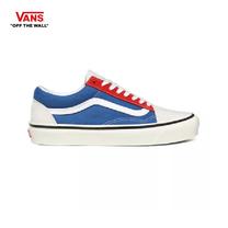 รองเท้าผ้าใบ VANS รุ่น ANAHEIM FACTORY OLD SKOOL 36 DX สี Og White/Og Blue/Og Red