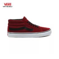 รองเท้าผ้าใบ VANS รุ่น SK8-MID สี Biking Red/True White