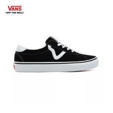 รองเท้าผ้าใบ VANS รุ่น SUEDE VANS SPORT สี (Suede) Black
