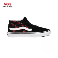 รองเท้าผ้าใบ VANS รุ่น CHERRIES SK8-MID สี Black
