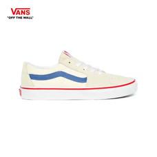 รองเท้าผ้าใบ VANS รุ่น SK8-LOW สี Classic White/Navy
