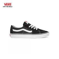 รองเท้าผ้าใบ VANS รุ่น SK8-LOW สี Black-True White