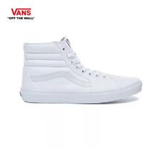 รองเท้าผ้าใบ VANS รุ่น SK8-HI สี True white