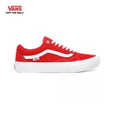 รองเท้าผ้าใบ VANS รุ่น SUEDE OLD SKOOL PRO สี Red/White