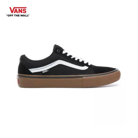 รองเท้าผ้าใบ VANS รุ่น OLD SKOOL (PRO) สี Black/White/Medium Gum