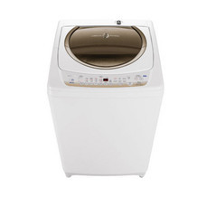 TOSHIBA เครื่องซักผ้าฝาบน (10 kg) รุ่น AW-B1100GT(WD) ถัง STL