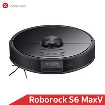 [รุ่นใหม่สุด ท๊อปสุด] หุ่นยนต์ดูดฝุ่นถูพื้น อัจฉริยะ โรโบร็อค Roborock S6 MaxV - Smart Robotic Vacuum and Mopping (Global Version)