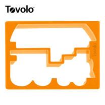 Tovolo แม่พิมพ์แซนด์วิซ ลาย Train/Boat - Orange