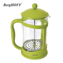 BergHOFF เหยือกกาแฟกด 1500 ml. - สีเขียว