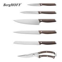 BergHOFF ชุดมีดด้ามไม้ฟอร์ก 7 ชิ้น