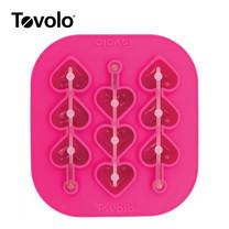 Tovolo พิมพ์น้ำแข็งหัวใจแท่งสั้น