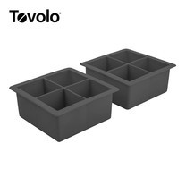 Tovolo แม่พิมพ์น้ำแข็ง ขนาด XL 2 ชิ้น - สีดำ