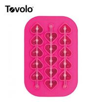 Tovolo พิมพ์น้ำแข็งหัวใจแท่งยาว
