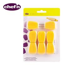 Chef'N Corn Cob Holders - สี Lemon 4 คู่ (8 ชิ้น/แพ็ก)