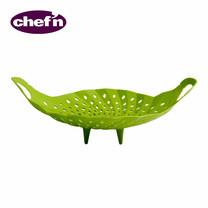 Chef'N ที่นึ่งผักอเนกประสงค์ ไม่ขูดหม้อ - สีเขียว