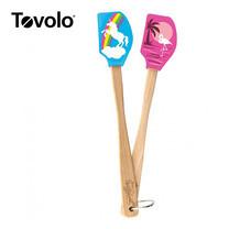Tovolo ทัพพีด้ามไม้เล็ก 2 ด้าม สเปทส์