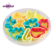 Mastrad ชุดที่ตัดคุกกี้ 10 ชิ้น/ชุด