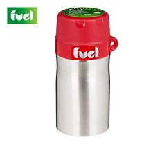 Fuel ภาชนะใส่อาหารและเครื่องดื่มสเตนเลส พร้อมช้อนพับ - สีแดง