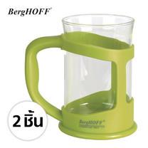 BergHOFF แก้วกาแฟ 2 ใบ - สีเขียว