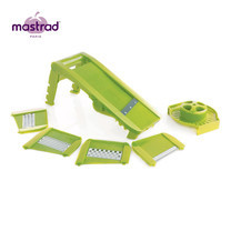 Mastrad ที่สไลด์ผัก 6 ชุดใบมีด - สีเขียว