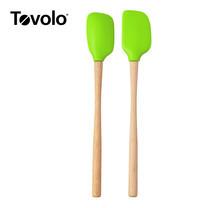 Tovolo ทัพพีด้ามไม้ 2 ด้าม ฟิเอสต้า