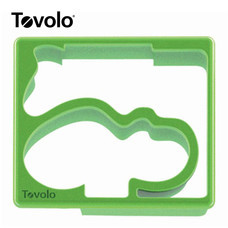Tovolo แม่พิมพ์แซนด์วิซ ลาย Hippo/Alligator - Green