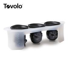 Tovolo แม่พิมพ์น้ำแข็ง รูปกระโหลก 3 ชิ้น/ชุด