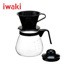 Iwaki ชุดกาชงกาแฟสดพร้อมที่ดริป ขนาด 1000 ml.
